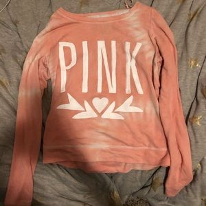Pink sweater / long sleeve shirt